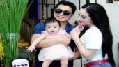 """Làm vợ Hoa hậu """"bầu 4 tháng sau 4 tháng quen"""", Lâm Vũ thừa nhận không phải ông bố tốt"""