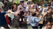 """Tranh chỗ chụp ảnh """"sống ảo"""" ở Đà Lạt, 2 người phụ nữ chửi bới, ẩu đả ngay dưới hồ"""