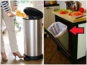Thùng rác cứ đặt ở vị trí này, cẩn thận ngập trong đói nghèo, xui xẻo cả năm