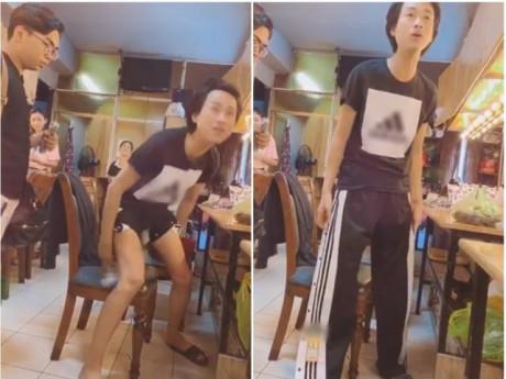Vì chiếc quần xẻ tà, Minh Dự lôi cả chuyện giới tính ra để mát mẻ Hải Triều