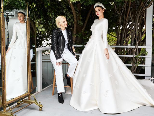 Kỳ công quy trình tạo nên một chiếc váy cưới trong mơ của Dior