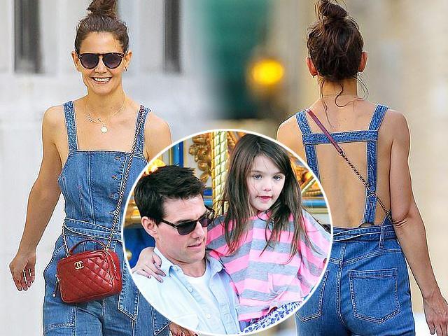 Đáp trả tin Tom Cruise không phải bố Suri, Katie Holmes có phản ứng gây ngỡ ngàng như thế này