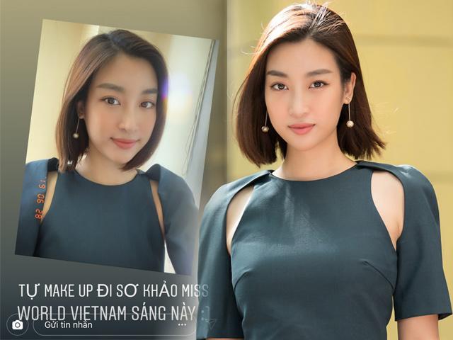Tự makeup để đi chấm Miss World, hoa hậu Đỗ Mỹ Linh nhận cái kết bất ngờ