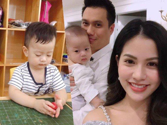 Nhận nuôi con hậu chia tay, vợ Việt Anh không khỏi xót xa khi con trai ốm thế này!