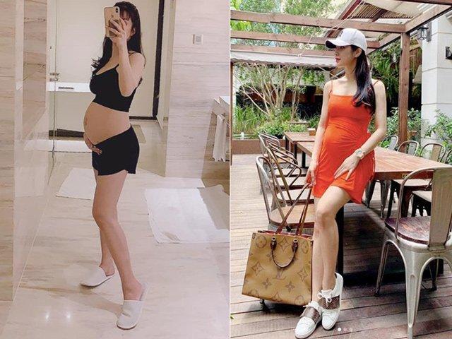 Đăng clip tập squat khi mang thai, Diệp Lâm Anh tiết lộ số đo 3 vòng gây sốc