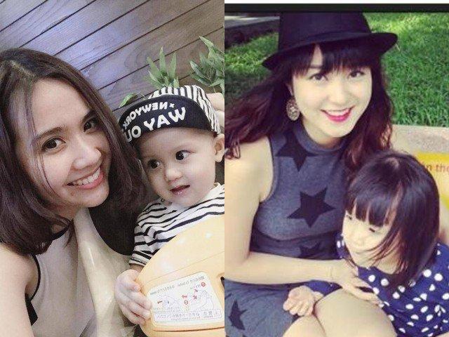 4 hotgirl xinh đẹp đời đầu 9X đều làm mẹ đơn thân, nhìn những đứa con đáng yêu hết nấc
