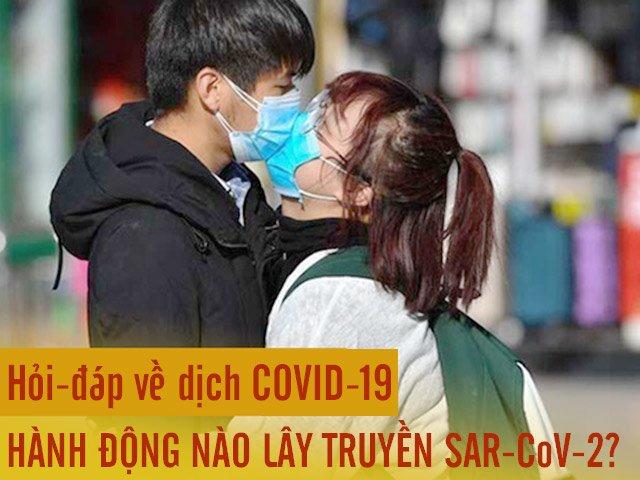 Hỏi-đáp về COVID-19 (P3): Những hành động nào có thể lây truyền virus corona chủng mới?