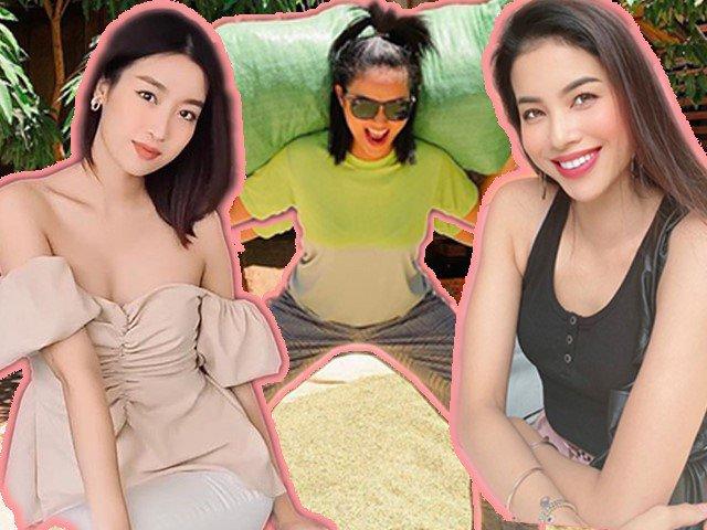 Hoa hậu thời dịch: Phạm Hương, HHen Niê tự làm nước detox, Đỗ Mỹ Linh diệt mụn tận gốc