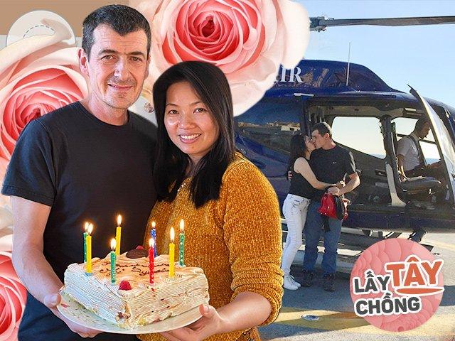 Cô gái Việt bán hàng được kĩ sư Pháp theo đuổi bằng trực thăng, cưới về mới biết yêu thật