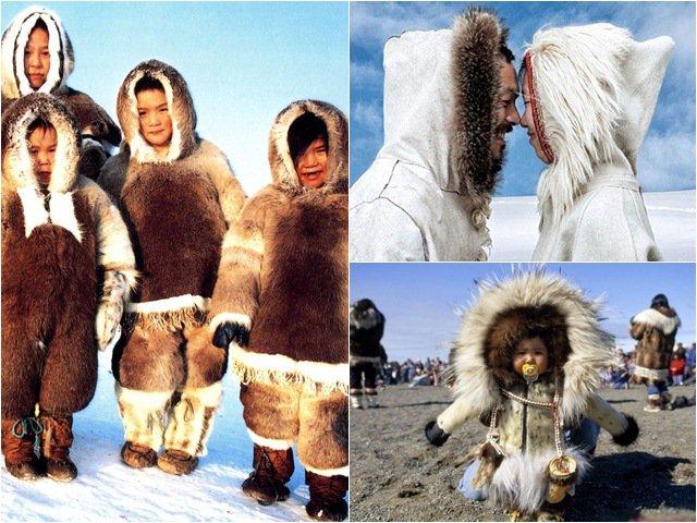Tộc người sống ở nơi băng tuyết phủ quanh năm: Không hôn nhau vì sợ dính chặt môi