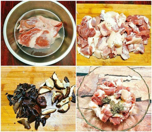2 cách nấu thịt đông ngon chuẩn vị với chân giò mộc nhĩ - 5