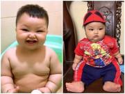 Mẹ Hà Nội nuôi con 1 năm nặng bằng trẻ 3 tuổi, nhìn 2 má ai cũng xuýt xoa