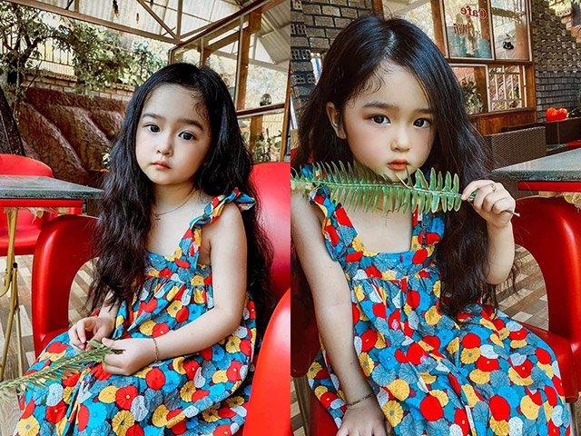 Bé gái hút nghìn like hội nghiện con hoá ra nổi tiếng nhất nhì Đăk Nông, nhìn mẹ càng mê