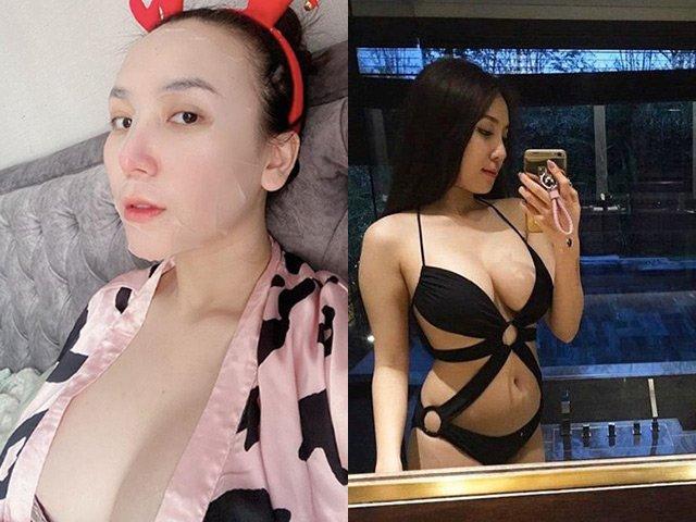 Chửa ngực, nữ DJ vợ Khắc Việt mang bầu 4 tháng đẹp quyến rũ, chẳng thấy bụng đâu