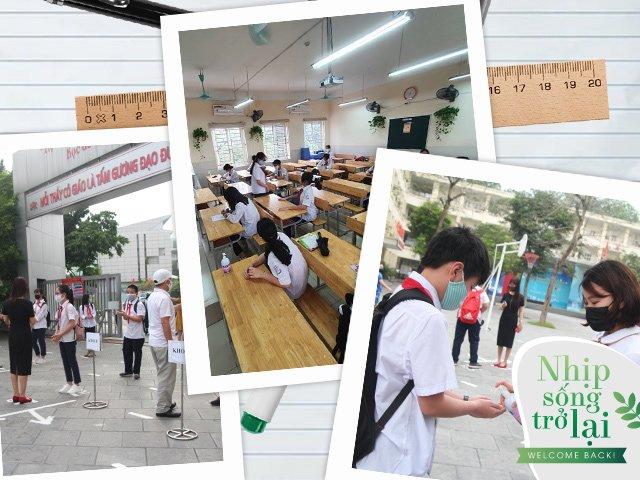 Ngày đầu đi học trở lại sau kỳ nghỉ dài của học sinh Hà Nội có gì đặc biệt?