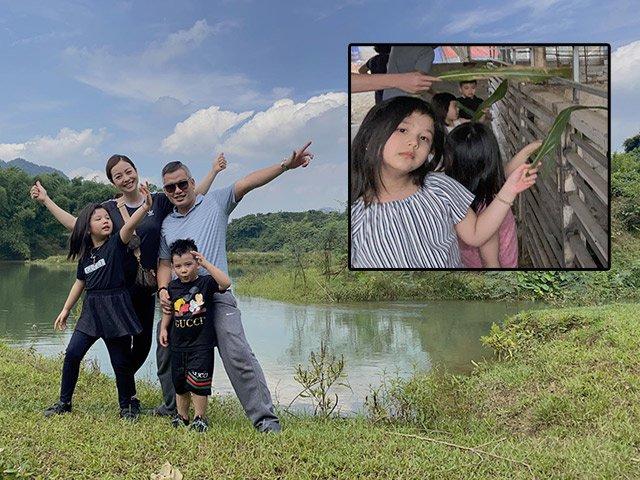 Jennifer Phạm hiếm hoi khoe ảnh chồng con, fan tấm tắc vì gương mặt tuyệt đẹp của 2 đứa trẻ