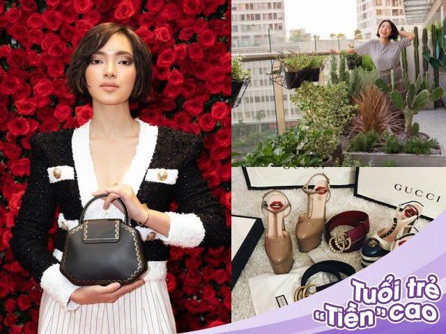 Cuộc sống đáng mơ ước của Châu Bùi: 23 tuổi đã có nhà 4 tỷ, sắm hàng hiệu mỏi tay
