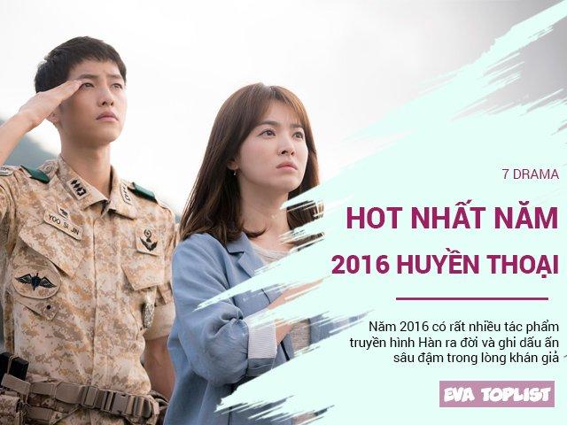 7 drama khiến 2016 trở thành huyền thoại với phim truyền hình Hàn