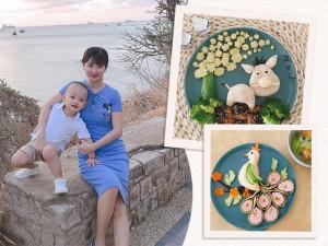 Mẹ Sài Gòn chẳng bao giờ lo con biếng ăn nhờ tài nhào nặn trăm đĩa cơm cực đỉnh