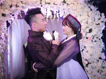 Hari Won ngượng chín mặt khi bị nhắc lại câu nói nổi tiếng về việc cưới ông xã