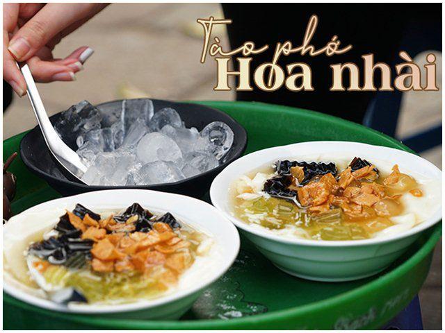 Quán tào phớ hoa nhài có một không hai ở Nguyễn Ngọc Vũ, mùa hè bán gần nghìn cốc