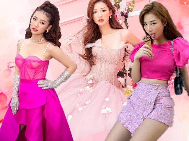 Mỹ nữ 2K diện đồ màu hồng đẹp, soán ngôi Nữ hoàng hường phấn của Ngọc Trinh nhờ đâu?