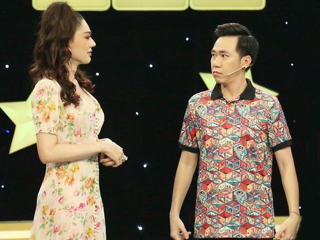 Lâm Khánh Chi liên tục đả kích nhan sắc của Anh Đức làm nam diễn viên tiu nghỉu
