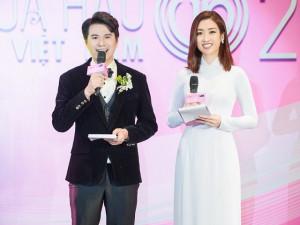 Vũ Mạnh Cường bất ngờ trước sự thông minh và trưởng thành của Hoa hậu Đỗ Mỹ Linh