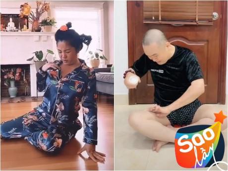 Sao lớn tuổi cũng đu trend: Xuân Hinh bị vợ mắng, Thúy Nga xẹp ngực vì rớt phụ tùng