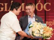Sao Việt - Nghệ sĩ Hoàng Dũng, Quốc Khánh và Xuân Bắc đến mừng Công Lý lên chức