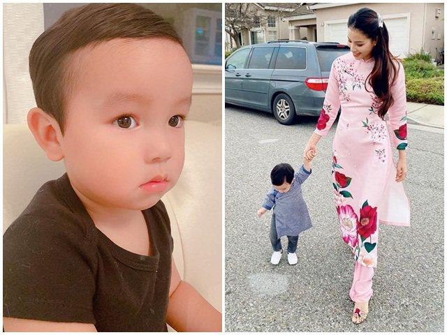 Hoa hậu Phạm Hương đăng lại hình con sau hơn 1 tháng khóa tài khoản, ai cũng mừng