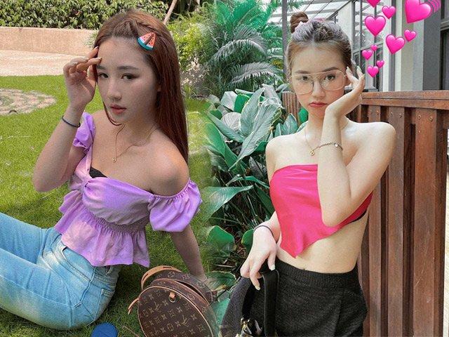 Quấn khăn ra đường ngày hè, Amee vô tình lộ lỗi thời trang kém duyên