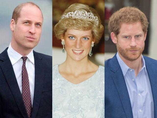 Giữa lúc em trai và em dâu bỏ đi, Hoàng tử William đau lòng khi nhớ về Công nương Diana