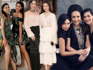 Soi nhan sắc những cặp mẹ đại gia, con ái nữ Việt: mẹ càng quý phái, con càng kiêu sa