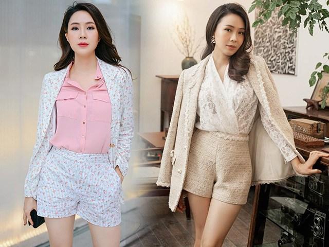 Khéo mặc như Hồng Diễm: diện quần short ngắn cũn vẫn thanh lịch vì chiêu mix đỉnh cao