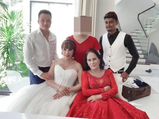 Cô dâu 65 tuổi và 62 tuổi chụp ảnh cưới đôi, diện mạo sau thẩm mỹ gây bất ngờ