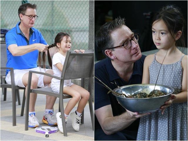 Hóa ra chồng Tây cao 1m9 của Đoan Trang từng làm HLV trước khi thành doanh nhân giàu có