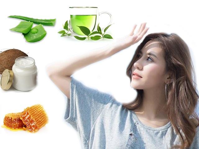 Ngoài bôi kem, các nàng còn có nhiều cách khác chống nắng cho da từ nguyên liệu thiên nhiên