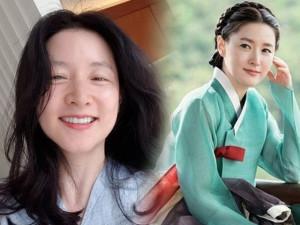 Để mặt mộc đuôi mắt đầy nếp nhăn, Dae Jang Geum Lee Young Ae không hề bị chê xấu