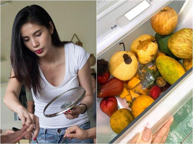 Thuỷ Tiên than nẫu ruột khi trái cây hỏng trong tủ lạnh, dân mạng phát hiện điểm đáng ngờ