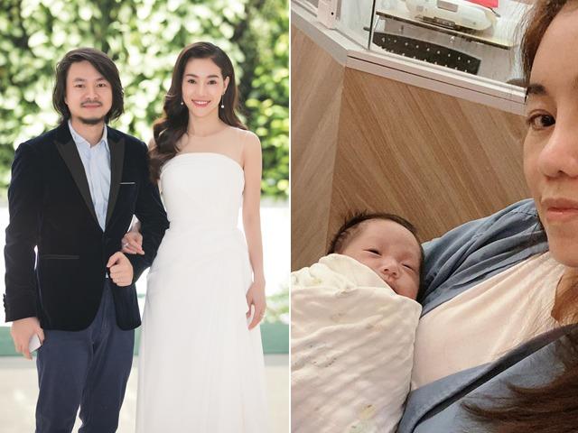 Vợ đạo diễn Hoa hậu sinh non ở Thái, con nằm lồng ấp đếm từng ngày chờ về Việt Nam
