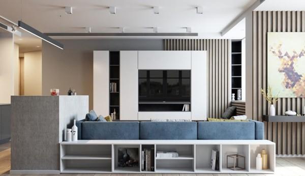Thiết kế nội thất chung cư 70m2 đẹp thời thượng, không hiểu về kiến trúc vẫn làm được - 5