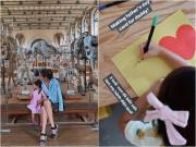 Giải trí - Sao Việt 24h: Con gái Tăng Thanh Hà 3 tuổi đã biết viết chữ rành rọt, làm mẹ hãnh diện