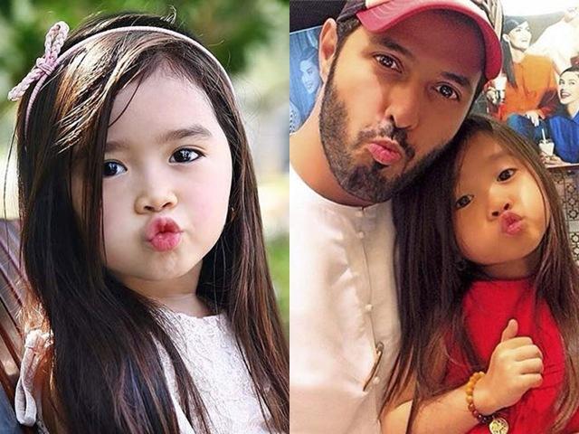 Bé gái xinh đẹp từng bị đồn được đại gia Dubai nhận nuôi giờ ra sao?