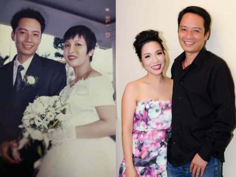 Đăng ảnh cưới 22 năm trước, Mỹ Linh nhắc chuyện lấy chồng, đến trang điểm cũng tự làm