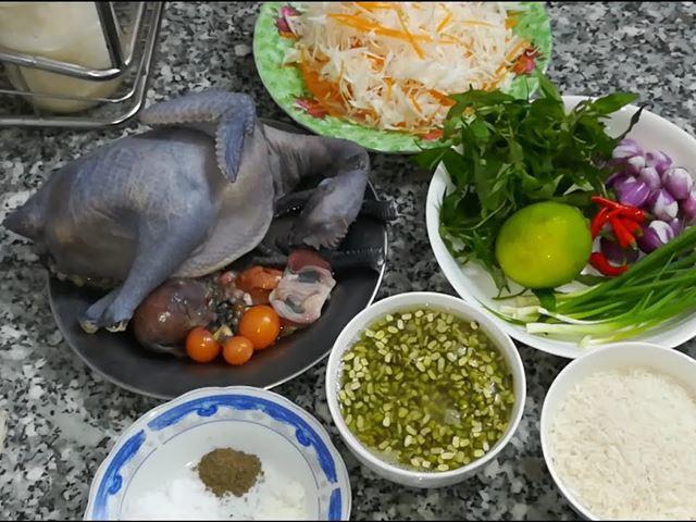 3 cách nấu cháo gà ác cùng rau củ siêu đơn giản cho bé ăn ngon - 3