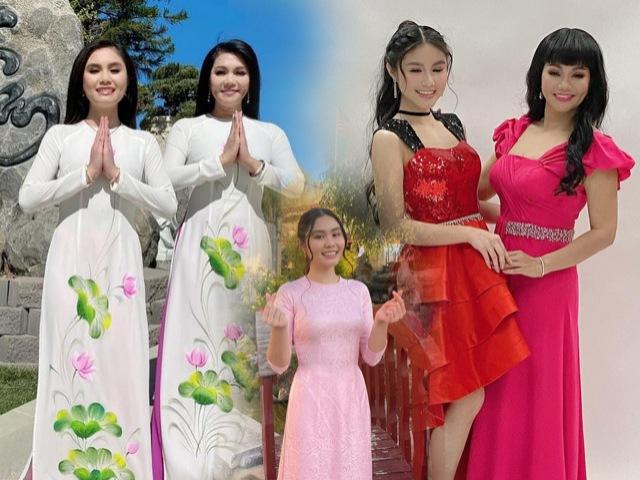 Con gái Ngọc Huyền mới 14 tuổi đã sở hữu chân dài, đẹp ngọt ngào chẳng kém mẹ