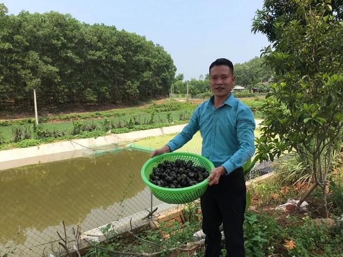 8X Thai Nguyen bought a car and built a billion-dollar house by raising