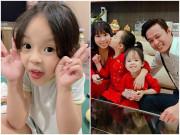 Vợ Hồng Đăng khoe khả năng có một không hai của con gái út