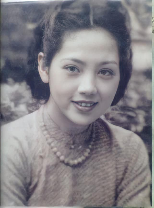 Mê mẩn loạt ảnh phục chế của những mỹ nhân Việt xưa sở hữu vẻ đẹp chuẩn mực - 5